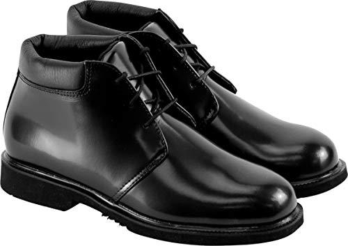 - Thorogood 834-6032 Men's Uniform Classic Leather Chukka, Black - 10 M US