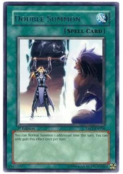 YuGiOh Double Summon Various Sets 1st Edition Played