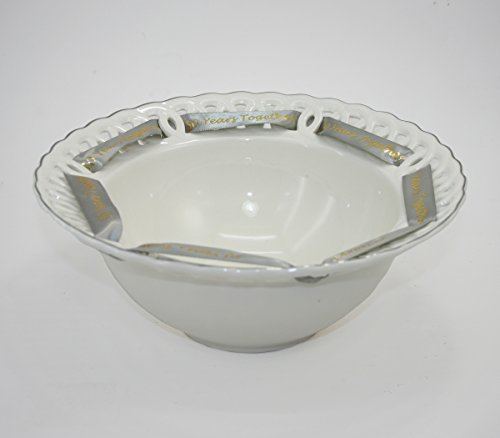 (50th Anniversary Bowl - 50 Years Together for 50th Anniversary Gift)