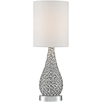 Leola Crystal Bead Gourd Table Lamp - - Amazon.com