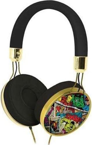 eKids Avengers Assemble Marvel Comic On Ear Fashion Headphones