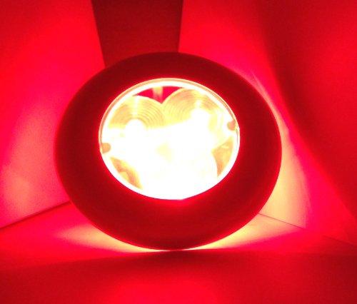 Red Led Courtesy Lights - 4