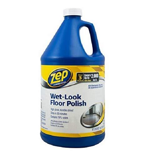 Zep Commercial Wet Look Floor Polish, 1 gal Bottle (2)