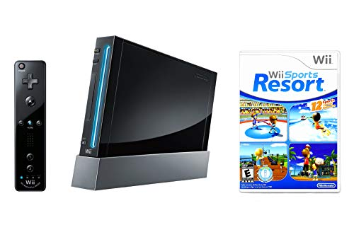 Nintendo Wii Console Black with ...