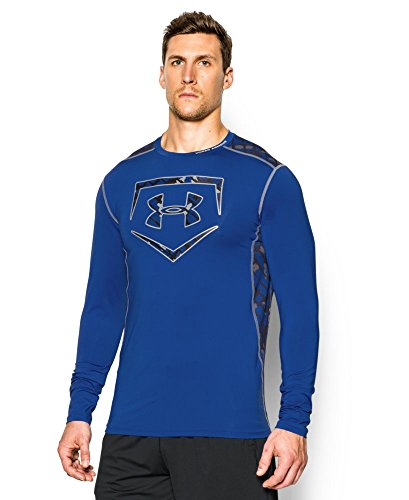 Under Armour Men's UA Raid Baseball Long Sleeve Shirt Ext...