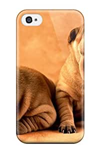 Frances T Ferguson Case Cover For Iphone 4/4s - Retailer Packaging Dog Protective Case by icecream design