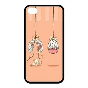 Custom Cat Back case for iphone4,4S JN4S-299