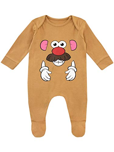 Disney Baby Boys' Toy Story Footies Size 3-6M Brown