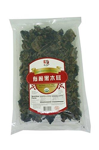 Big Green Organic Dried Fungus/Black Woodear Mushroom/Black