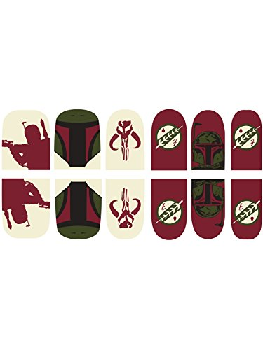 Rubie's Adult Star Wars Boba Fett Nail Stickers -