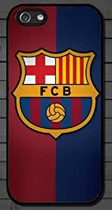 iPhone 5 Case Black - Barcelona Soccer Futsal FC Messi - Hard Protective Case