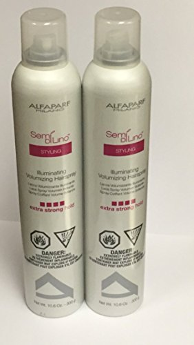 Alfaparf Semi Di Lino Illuminating Volumizing Hairspray Extra Strong Hold - 10.06 (PACK OF (Di Lino Illuminating Hair Spray)