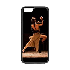 iPhone 6 Plus 5.5 Inch Cell Phone Case Black Flamenco-Dancer Customized Custom Phone Case Cover XPDSUNTR35145