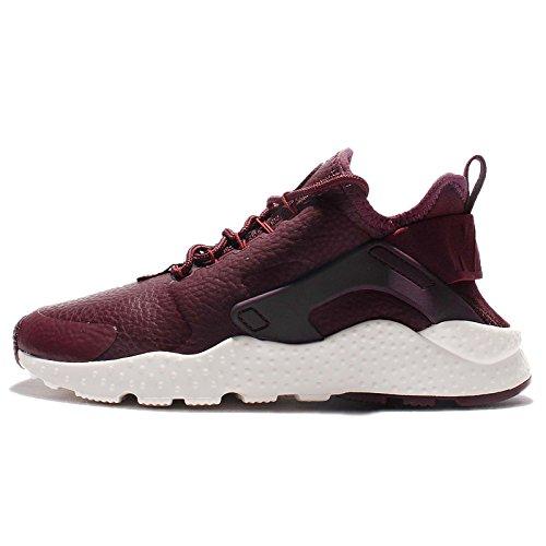 Nike Womens Huarache Run Ultra PRM Running Trainers 859511 Sneakers Shoes (UK 4.5 US 7 EU 38, Night Maroon sail 600)