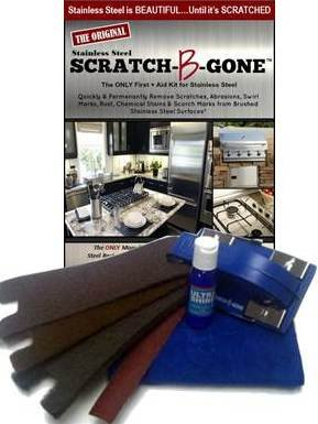 Scratch-B-Gone Stainless Steel Maintenance Kit