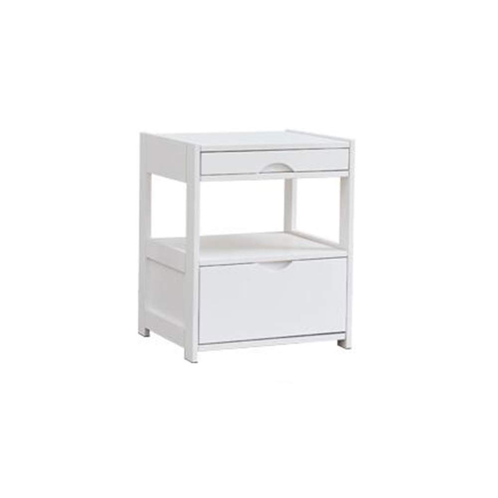 ラック木製サイドテーブルシンプルでモダンな小さなキャビネット多機能ベッドルームベッドサイド収納キャビネットシンプルな収納キャビネット YIXIN (Color : 2, Size : 45*55cm) B07SFLCWSB 2 45*55cm