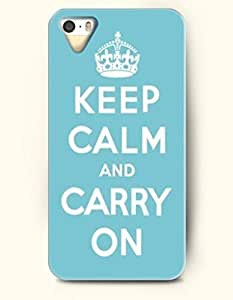 iPhone 4/4s 4S Case OOFIT Phone Hard Case **NEW** Case with Design Keep Calm And Carry On- Crown - Case for Apple iPhone 4/4s/4s