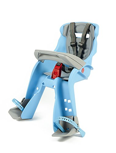 Peg Perego Orion Front Mount Child Seat, Aqua/Grey (Best Front Mounted Child Bike Seat)