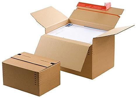 Flash caja de piso, CP 141.201, cantidad: Pieza 100, Color: marrón, Cajas grandes, Cartón: Amazon.es: Hogar
