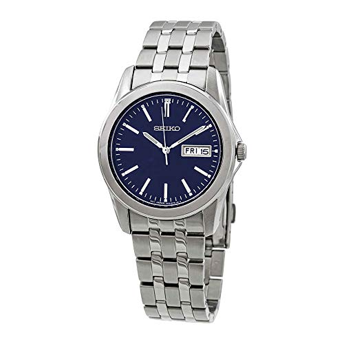(Seiko Men's Analogue Quartz Watch with Stainless Steel Strap SGGA41P1)