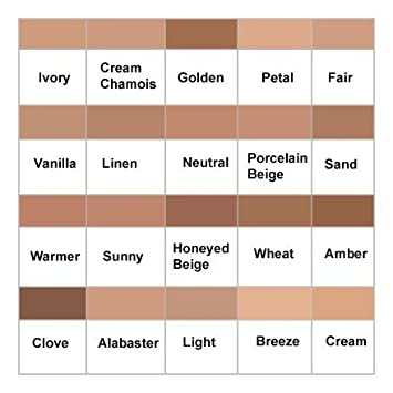 Clinique Superbalanced Makeup Color Chart - Rebellions