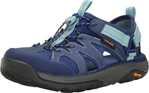 Omnium Sport Sandal - Teva Women's Terra-Float Active Lace Sport Sandal (7.5, Blue)