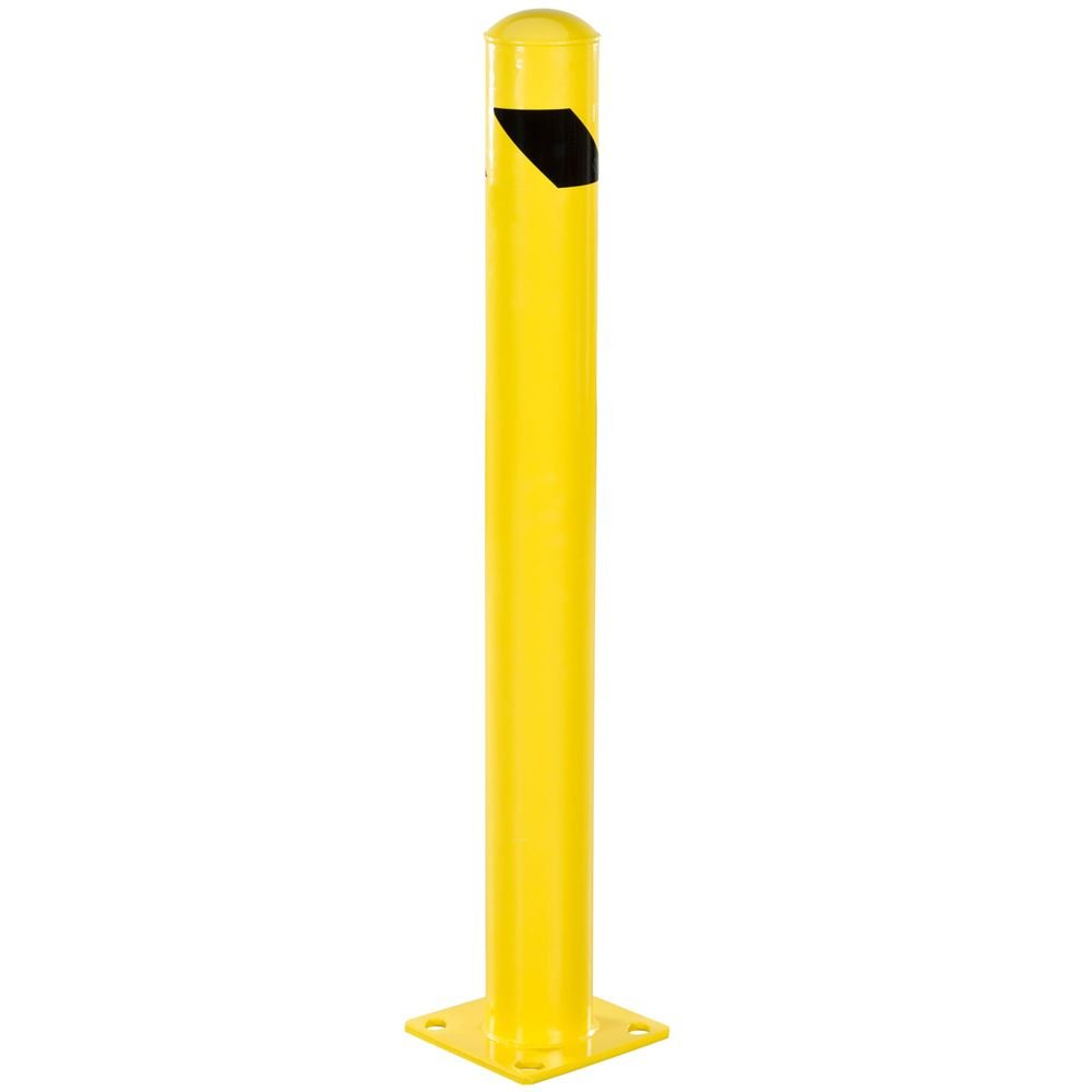 Guardian Steel Safety Barrier Bollard 4.5'' x 4.5'' x 42'' by Guardian