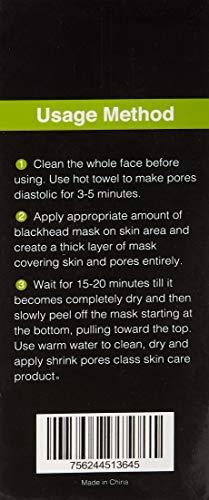 Black Mask Blackhead Remover Purifying Black Peel Off Mask - Import
