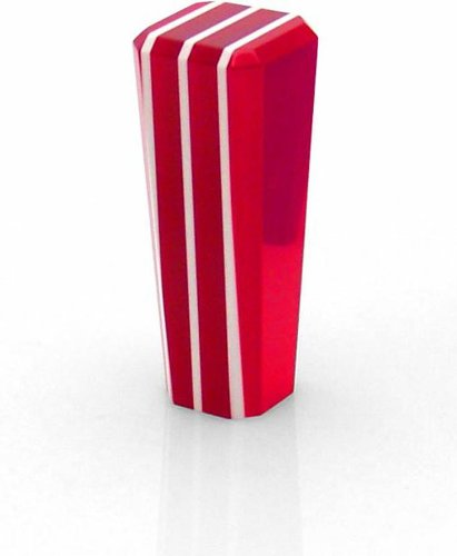 American Shifter 215 Stripe Stix Red Shift Knob
