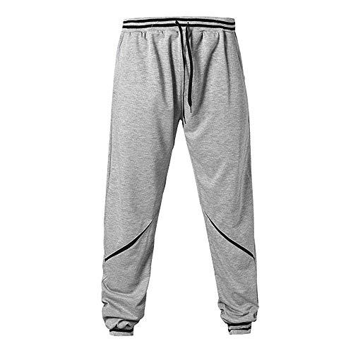 Pantaloni Comodo Grau Con Battercake Nener Uomo Fitness A Da Jogger Nuovi 2018 Vita Bassa Coulisse Piatta AUZq4xd