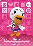 Pelly - Nintendo Animal Crossing Happy Home Designer Amiibo Card - 204