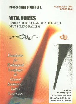 Vital Voices: Endangered Languages and Multilingualism