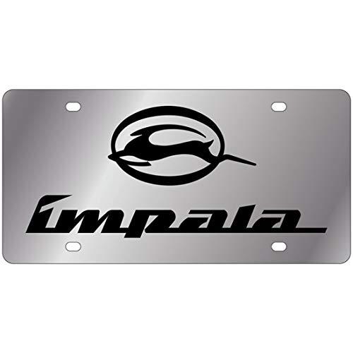Eurosport Daytona License Plate for Impala Chrome Stainless Steel - 1312-1