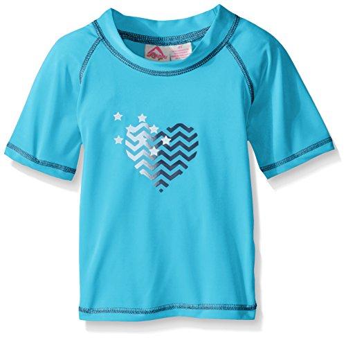 Kanu Surf Girls' Jade UPF 50+ Sun Protective Rashguard Swim Shirt