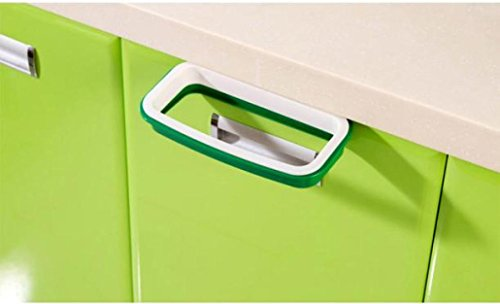 Kitchen Waste Basket Holder: Binmer(TM)Hanging Kitchen Cupboard Cabinet Tailgate Stand