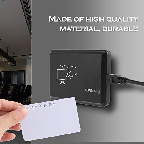 5 Cartes didentit/é 5 Boucles de cl/és didentification USB 125Khz RFID EM4305 T5567 Lecteur//enregistreur de Cartes copieur//enregistreur graveur