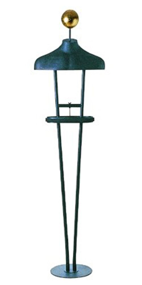 Ladies' Floor Standing Unit w/ Gold Leaf Ball Matte by Modern Store Fixtures by Modern Store Fixtures