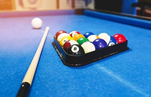 Azul mesa de billar Negro Bolígrafo - Bolas del billar bar Regalo ...