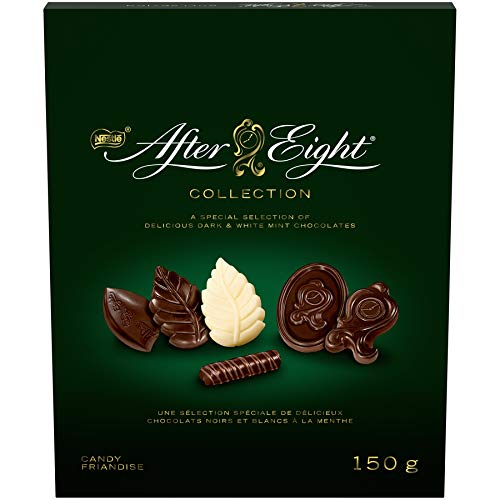 Nestle After Eight Collection Dark And White Mint Chocolates 150g
