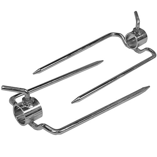 Titan Outdoors Pair of Rotisserie Forks for 1