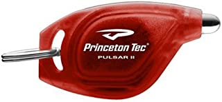 product image for Princeton Tec Pulsar II White LED Key Chain Light (Red Body)