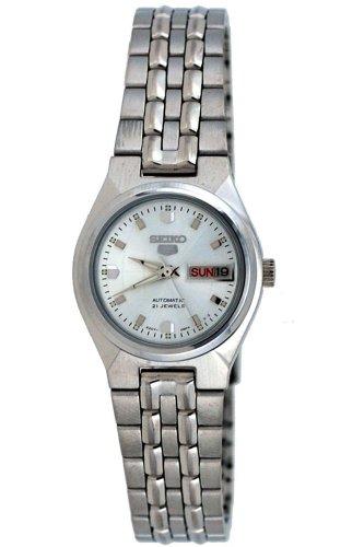 - Seiko 5 #SYMK39K1 Women's Silver Dial Self Winding Automatic Watch