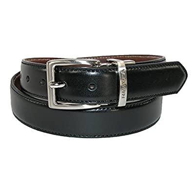 Nautica Boys' Glove Calf Leather Reversible Dress Belt (Pack of 2)