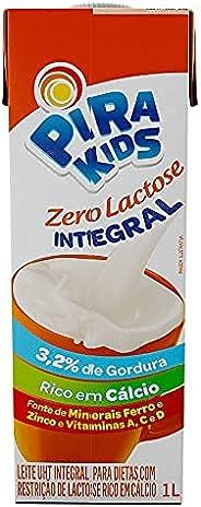 Leite Integral Crescer Zero Lactose Pirakids 1L