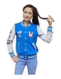 Dazcos US Size Cotton Blue Baseball Letterman Jackets with Pockets