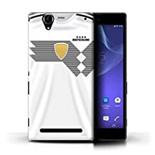 STUFF4 Phone Case/Cover for Sony Xperia T2 Ultra/Germany/German Design/World Cup 2018 Football Shirt Collection
