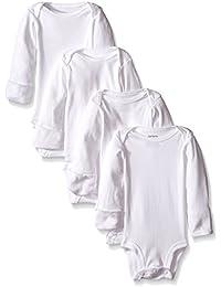 Unisex Baby 4-Pack L/S Bodysuits