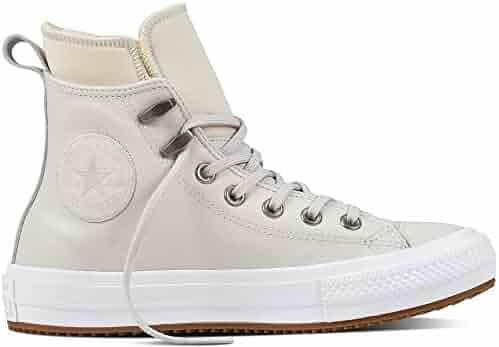 02e41b853a685b Converse Chuck Taylorr All Star Craft Neutral Leather Hi Pure  Platinum White Mouse Women s