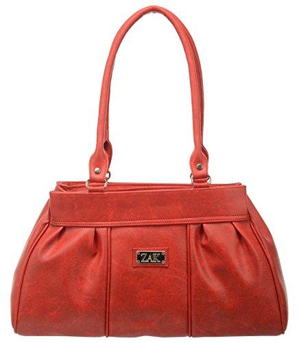 Zak Women's Handbag (Red, ZDR106)