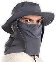 Sombrero de sol para hombres y mujeres al aire última intervensión – Sombrero de verano con cubierta desmontab